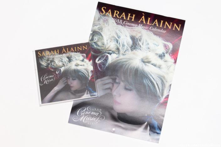 Sarah Àlainn 2018 'Cinema Music' Calendar