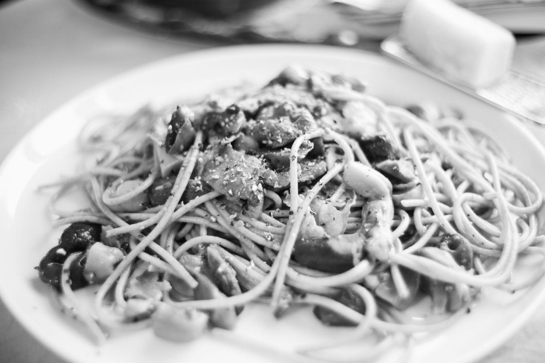 Spelz-Spaghetti